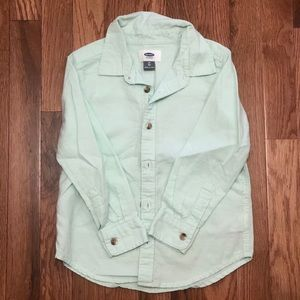Old Navy button up size 5T